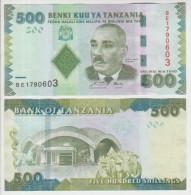 Tanzania 500 Shillings 2010 Pick 40 UNC - Tanzania