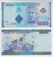 Tanzania 1000 Shillings 2010 Pick 41 UNC - Tanzania