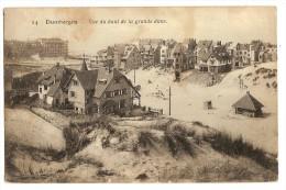 BELGIUM Duinbergen Vue Du Haut De La Grande Dune - Knokke