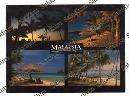MALAYSIA MALESIA - XXL CARD - Big Format - Malesia
