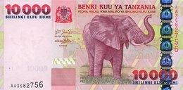 Tanzania 10000 Shillings 2003 Pick 39 UNC - Tanzania