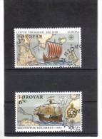 BIN525  FÄRÖER INSELN 1992  Michl  231/32  Used / Gestempelt - Färöer Inseln