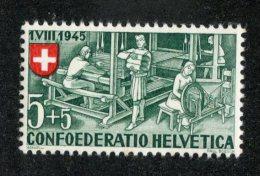 5182 Swiss 1945 Mi.#460 ** Scott #B146 (cat.1.€) Offers Welcome!- - Ungebraucht