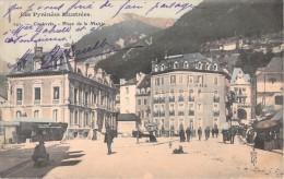 65 CAUTERETS PLACE DE LA MAIRIE / ANIMEE / HOTEL DE LA PAIX - Cauterets