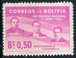 5481 - Bolivia 1953 - Personages - Bolivia