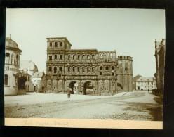 Foto 1895  Photo  ( 15 X 11 Cm )  Porta Nigra  Trèves  Trier  Allemagne  Deutschland - Photographs