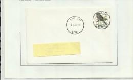 Oblitérations Postal  Tintigny Rossignol  Bellefontaine  St Vincent - Sellos