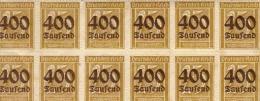 Allemagne - YT 286 - 12 Timbres (4 Ou 5 Dos Usagés) - Neufs Avecgomme Sans Charnières - Allemagne