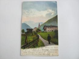 WEISSENBACH     , Karte Um 1906  , 2 Scans - Italy