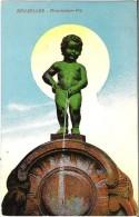 BRUXELLES - Manneken-Pis - N'a Pas Circulé - Monumenti, Edifici