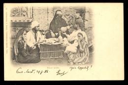 Diner Arabe. / 84. Lichtenstern&Harari / Year 1900 / Old Postcard Circulated - Egypt
