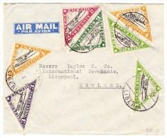 Liberia - Flugpost Brief  16.10.1937 Monrovia Nach Liverpool England - Liberia