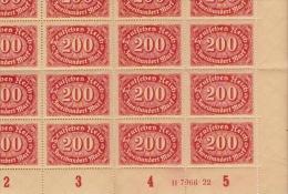 Allemagne 1921 - YT 156 - 96 Timbres Neufs Avec Gomme Sans Charnière - Allemagne