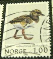 Norway 1980 Haematopus Ostralegus Birds 1.00Kr - Used - Norvège
