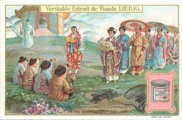 CHROMO LIEBIG - Fêtes Nuptiales - Série Belge N° 994 - Au Japon - Année 1910 - Liebig