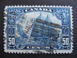 Canada Sc 158 U Bluenose Ship A Nice Stamp Here! - 1911-1935 Règne De George V