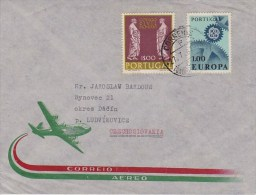 Portugal; Cover W. Europe (CEPT) Stamp 1967 - 1910-... République