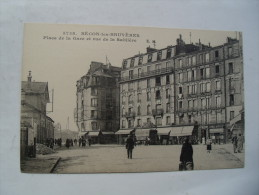 92 Courbevoie Becon Les Bruyeres Rue Sabliere Animation - Courbevoie