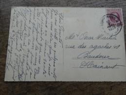 N°195 Du 10/05/1920 Sur CP Bourg-Léopold Vers Baudour - 1922-1927 Houyoux