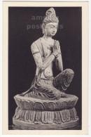 ADORING BODHISATTVA~CHINESE BUDDHIST SCULPTURE~FOGG ART MUSEUM~HARVARD Postcard  [5575] - Sculptures