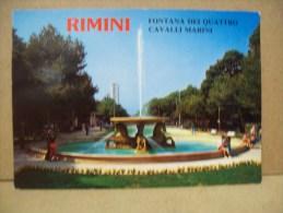 """Fontana Dei Quattro Cavalli Marini """"Rimini"""" RI """"Emilia Romagna"""" (Italia) - Rimini"""