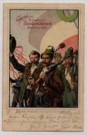 Deutches Reich, 1903, Hannover, 14 Deutschen Bundesschiessen (Tir Fédéral), Fusils, 5 Pf., Hannover 12-7-03 - Tiro (armi)