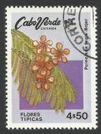 Cape Verde, 4.50 E. 1980, Sc # 417, Used - Cape Verde