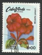 Cape Verde, 8 E. 1980, Sc # 418, Used - Cape Verde