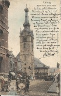 CHIIMAY : Eglise Et La Grand Place - Nels Série 114 N° 11 - RARE COLORISEE - Cachet De La Poste 1902 - Chimay
