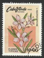 Cape Verde, 10 E. 1980, Sc # 419, Used - Cape Verde