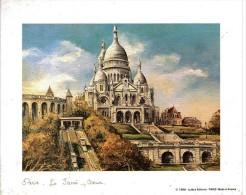 Paris Le Sacré Coeur -Signé Dupassant - Editions LUtèce 1988 - Autres Collections