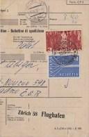 Switzerland; Packet Card W. Europe (CEPT) Stamp 1957 - Suisse