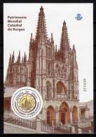 HB ESPAGNE PATRIMONIO MUNDIAL CATEDRAL DE BURGOS -  MONDE PATRIMOINE CATHÉDRALE DE BURGOS  GOTHIQUE - Iglesias Y Catedrales
