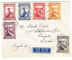 Mosambik Flugpost Brief 27.2.1940 Lourenco Marques Nach Brixton GB - Mozambique