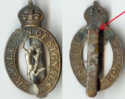 ROYAL CORPS OF SIGNAL Insigne Britannique - Landmacht