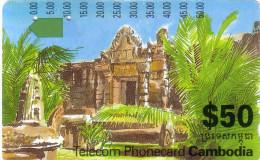 CAMBODGE CAMBODIA TEMPLE TAMURA ICM 3-2-3 50$ UT - Cambodia