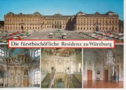 DIE FUERSTBISCHOEFLICHE  RESIDENZ ZU WUERZBURG                (NUOVA) - Wuerzburg