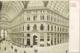 CPA Animée - NAPOLI (Italia) - Galleria Umberto I - Napoli