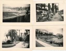 Lot De 7 Photos Amateurs Italie SAN REMO 1959 - Photographie Ancienne No CPA - San Remo