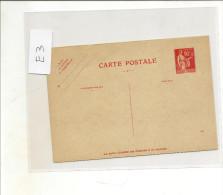 Entier Carte Postale Type Paix 90 Cts Rouge   Ref Storch E3  Et Yvert 285 CPRP (reponse Payé )cote 150 Prix 59 - Ganzsachen
