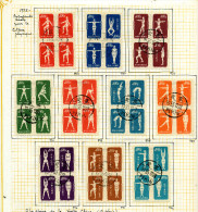 Chine 1952 : Culture Physique Y&T 933/942 ° - Used Stamps