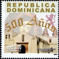 Dominican 500 Years Villa Salvaleon De Higuey Sc 1441 MNH 2007 - Dominikanische Rep.