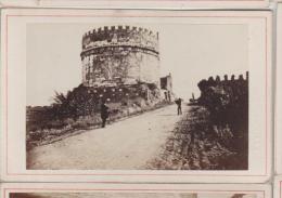 Cdv Vue De Rome Roma Italie Italia Photographe Anonyme 3 - Antiche (ante 1900)