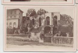 Cdv Vue De Rome Roma Italie Italia Photographe Anonyme 5 - Antiche (ante 1900)