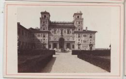 Cdv Vue De Rome Roma Italie Italia Photographe Anonyme 7 - Antiche (ante 1900)
