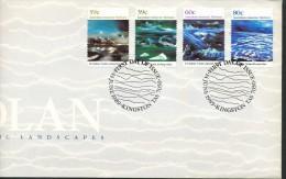 Australische Gebiete In Der Antarktis  - Mi.Nr.  84 - 87 -   Erstagstempel - FDC