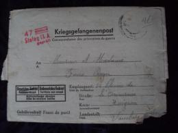 Lot De 6 Lettres De Correspondance De Prisonnier De Guerre Stlag IX A  WWII - 1939-45