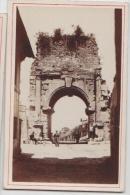 Cdv Vue De Rome Roma Italie Italia Photographe Anonyme 8 - Antiche (ante 1900)
