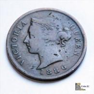 Chipre - 1 Piastre - 1886 - Chypre