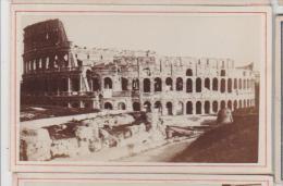 Cdv Vue De Rome Roma Italie Italia Photographe Anonyme 14 - Antiche (ante 1900)